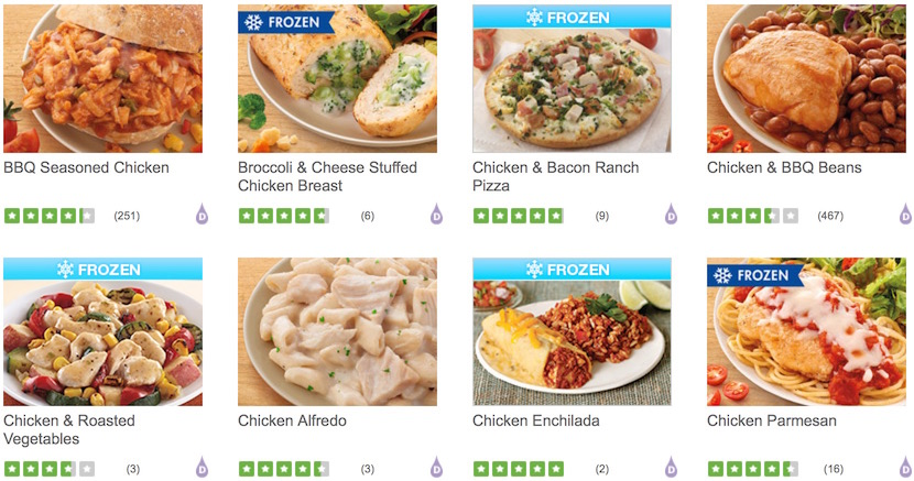 Five of the Best Tasting Nutrisystem Foods