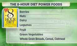 8 hour diet power foods