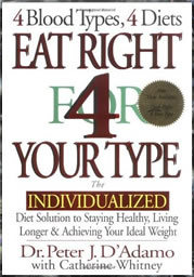 blood type diet book